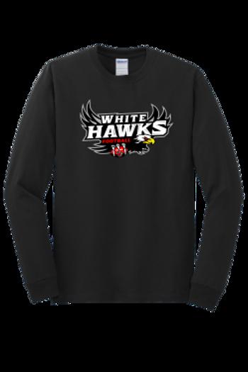 White Hawks: Adult Long Sleeve TShirt