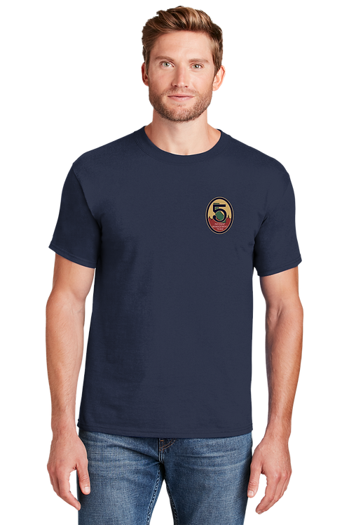 Team 5: 5180 Hanes Beefy T-Shirt / Short Sleeve