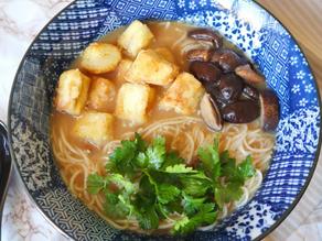 Vegan Creamy Miso Ramen (onions and garlic free)