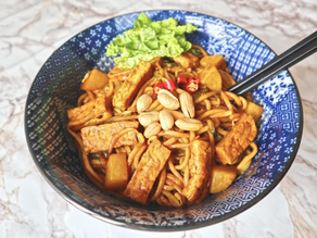 Vegan Mee Goreng Mamak (onions and garlic free)
