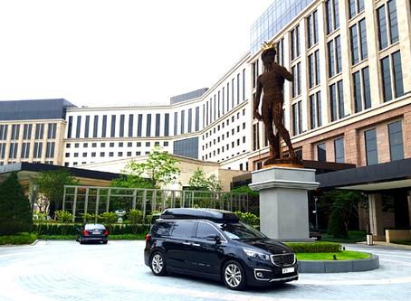 일본 VIP 하이리무진 의전 후기 (파라다이스시티,강원랜드,힐튼호텔세븐럭)