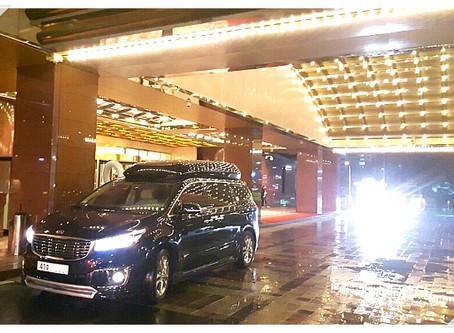 하이리무진 2대 & 벤츠스프린터 렌트(카자흐스탄 VIP 의전 , 오바마 대통령 방한)