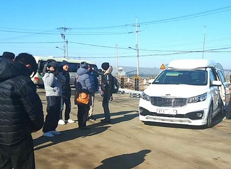 일본 NHK방송 촬영 리무진 의전 #2 (SMAP 멤버 쿠사나기 츠요시, 초난강님)