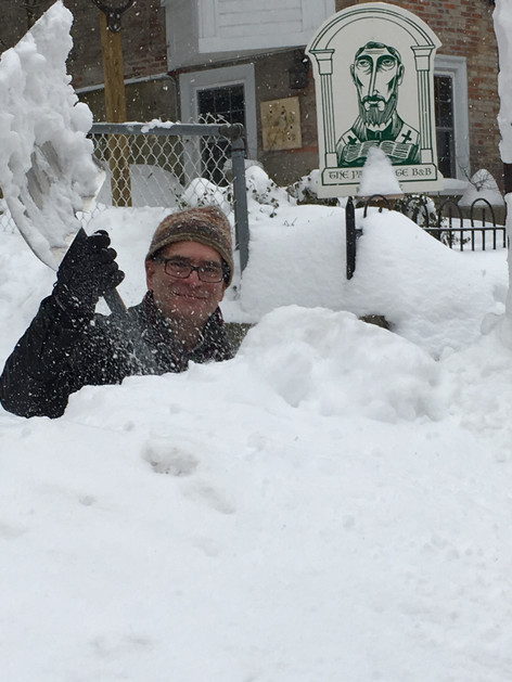 Michael shovels.....