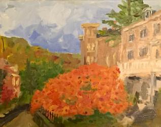'Webster House, Autumn'