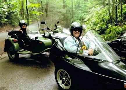Take a sidecar tour
