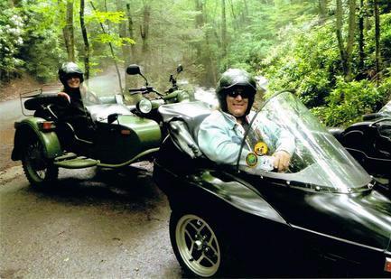 Take a sidecar tour