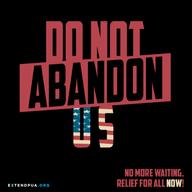 #DoNotAbandonUS