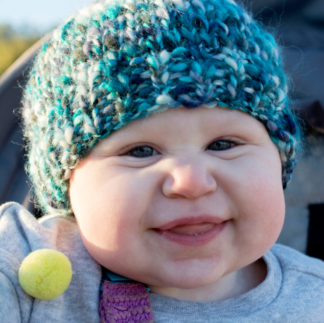 Chunky Knit Toddler Hat