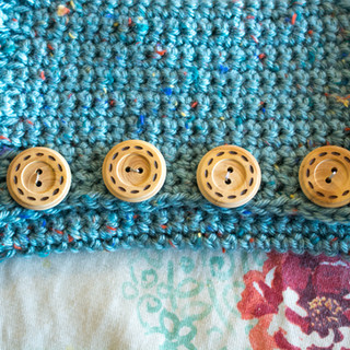 Autumn Cowl Crocheted