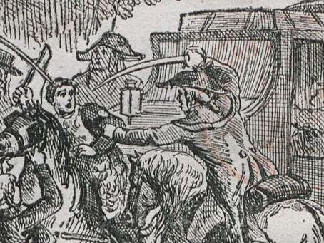 The Lyon Mail Stagecoach Robbery