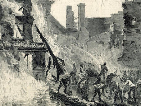 The Great Whiskey Fire of 1875