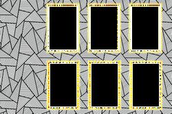 Strip 6 Black & white
