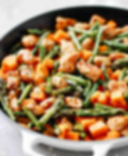 Asparagus-Sweet-Potato-Chicken-Skillet-P