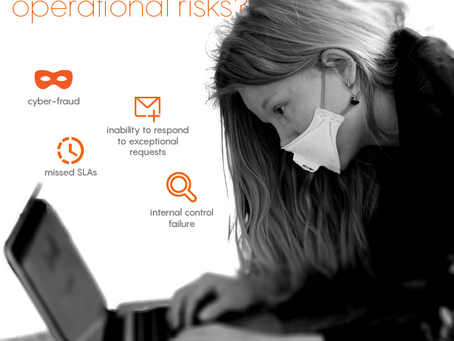 Did teleworking reveal any operational risks?