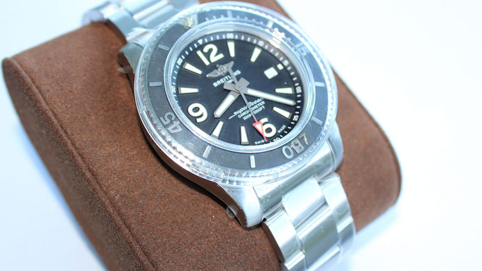 New Breitling Superocean Automatic 44mm, Black Dial, Ref# A17367