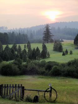 Twin Creeks Farm Sunset