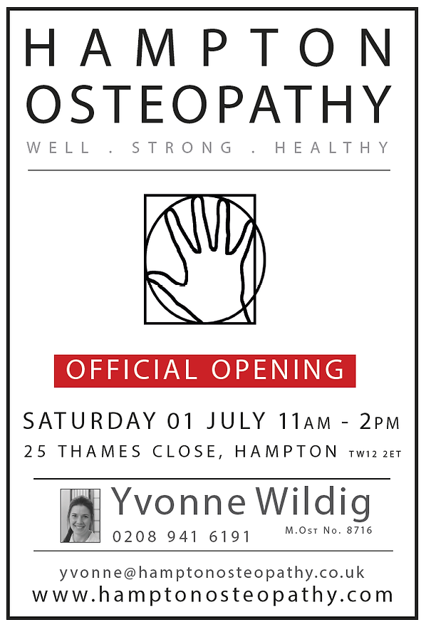 Hampton Osteopathy Launch