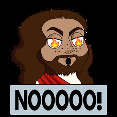 Jesus Twitch Emote, Illustrator, 2021