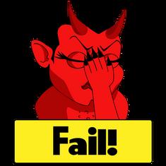 Devil Twitch Emote, Illustrator, 2021