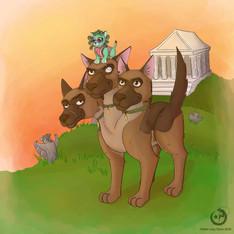 Monsterfoolery Drawing Challenge, Pet_Foolery, Illustration, Procreate, 2020