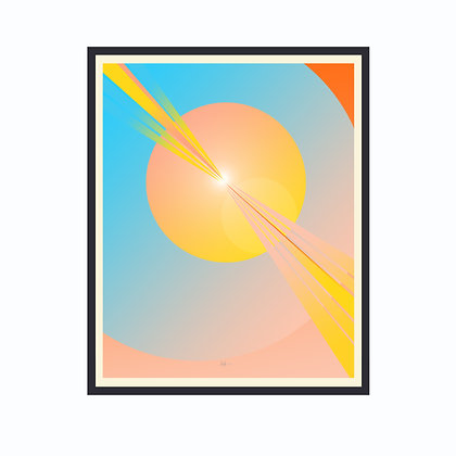 Limited Edition Out Of This World 2, Framed Print Medium