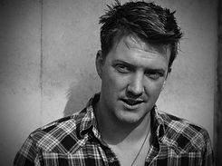 Queens of the Stone Age Joshua Homme for BLAG magazine Photography by Sarah J. Edwards