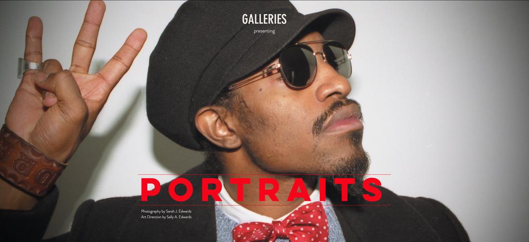 BLAG Exhibition: Portraits