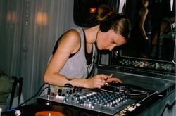 Sarah DJ Ice Cream 2005