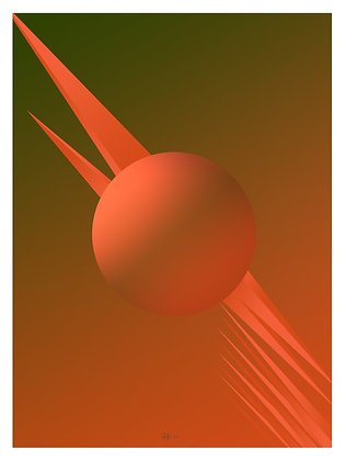 Limited Edition Out Of This World 4, Print