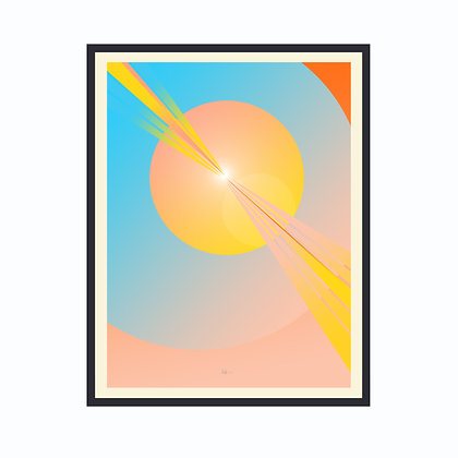 Limited Edition Out Of This World 2, Framed Print Large