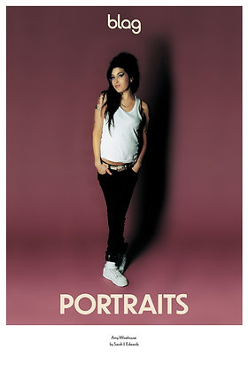 Limited Edition BLAG Portraits Poster: Amy Winehouse