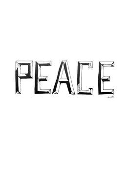 Limited Edition Art | PEACE, 2013