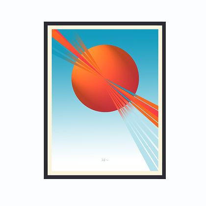 Limited Edition Out Of This World 1, Framed Print Small