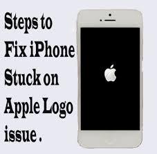 iPhone stuck on apple logo after itunes restore
