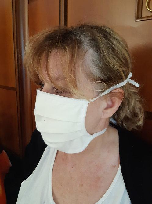 Masque 100% COTON BIO (à lannières)