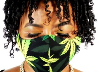 Hemp Leaf Face Mask