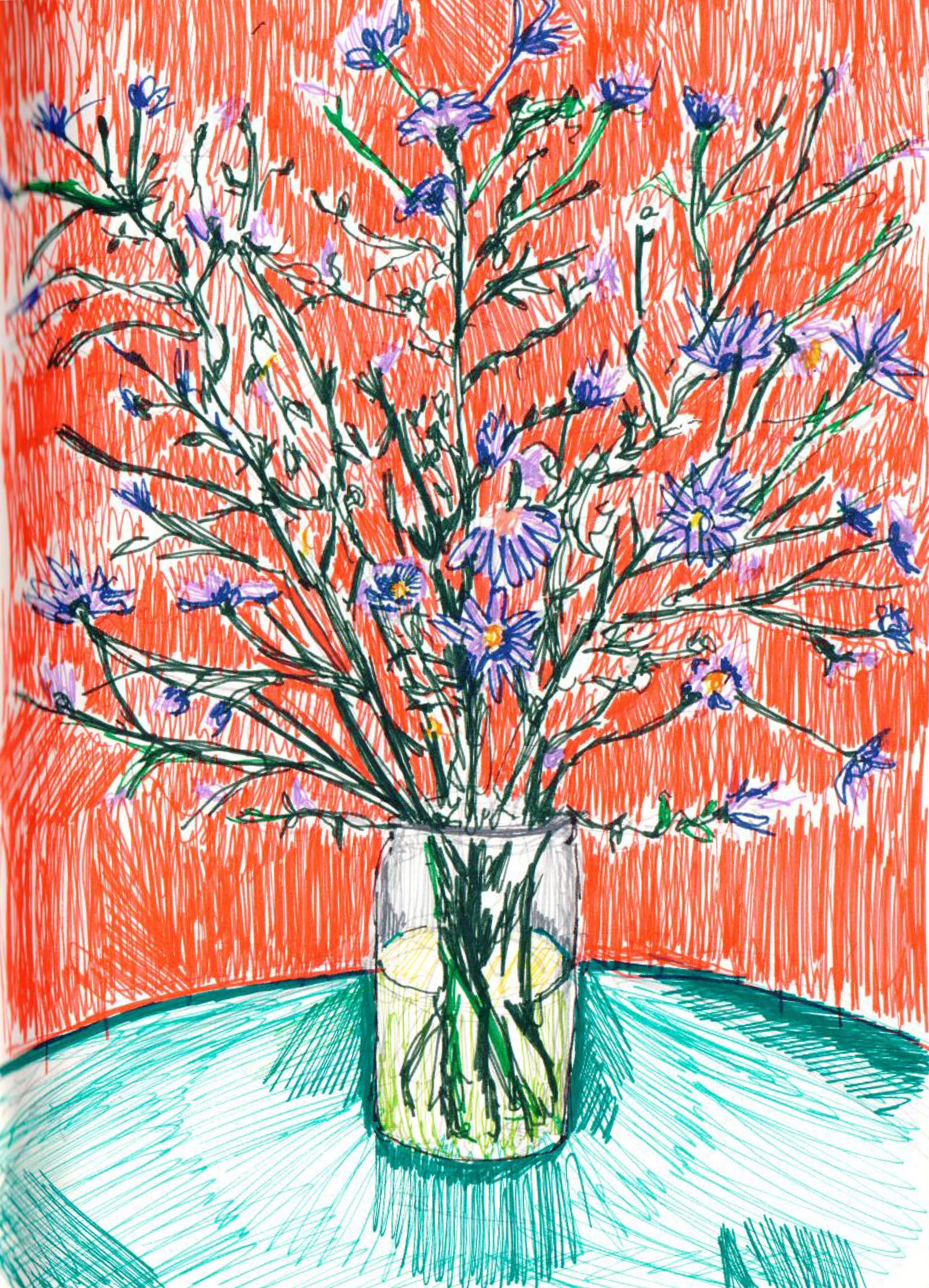 Flowers Sketch - 2