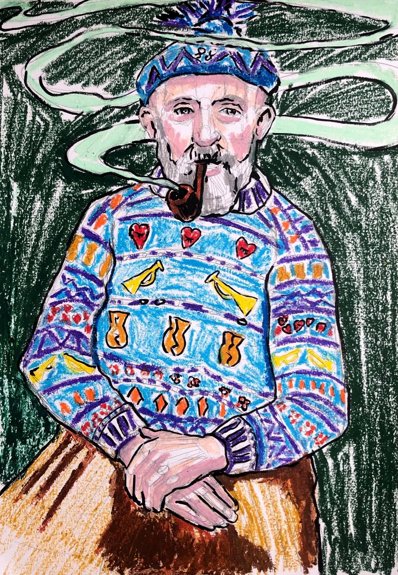 Man Smoking 5/6
