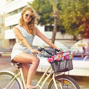 Faire du vélo Fille
