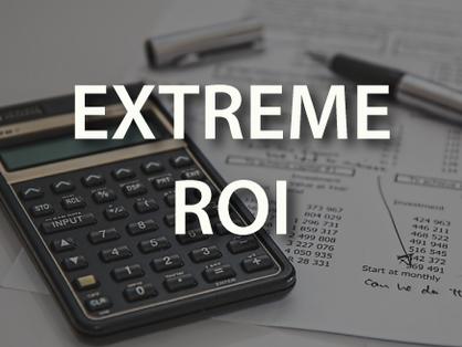 Extreme ROI