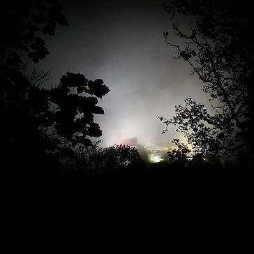 Palácio da Pena em Passeio Nocturno em S
