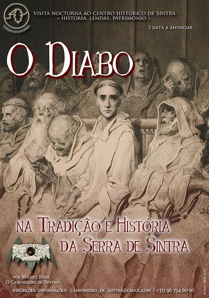 O Diabo na Tradição e História da Serra de Sintra - Caminhada Nocturna em Sintra - Miguel