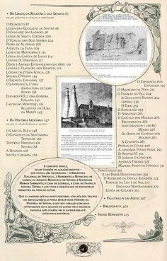 Artigo (incluindo índice) sobre o livro Sintra Lendária - Histórias e Lendas do Monte da Lua (página 3)