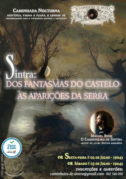 Dos Fantasmas do Castelo - 02 e 03 de Ju