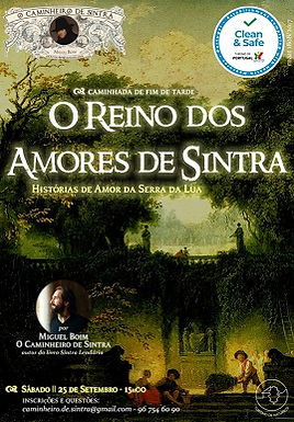 (p) 259 O Reino dos Amores de Sintra - 25 de Setembro de 2021 - CLEAN AND SAFE (caminhada