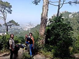 Numa caminhada diurna por Miguel Boim, O Caminheiro de Sintra