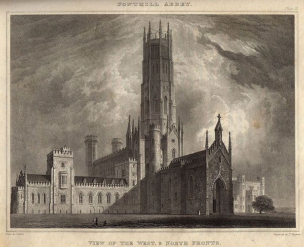 BECKFORD - Fonthill Abbey designed for W