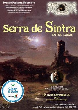 (p) 129 Serra de Sintra Entre Lobos - 12 de Setembro de 2021 (caminhada nocturna em Sintra