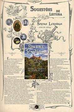 Artigo (incluindo índice) sobre o livro Sintra Lendária - Histórias e Lendas do Monte da Lua (página 1)